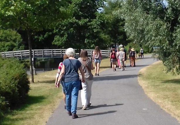 wandelingen naar Ilpendam en Edam Bertbeweegtje
